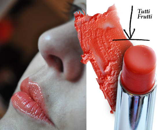 revlon lip butter tutti frutti on the lips