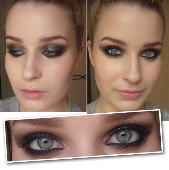 the smokey eye result