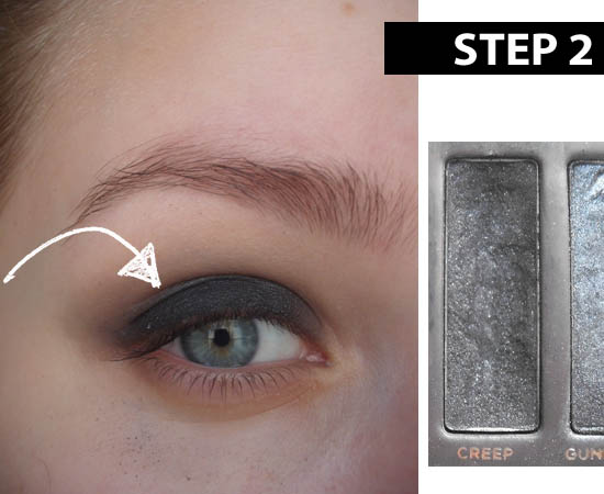 smokey eye tutorial step 2
