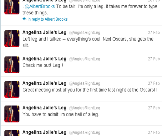 anglie's legs twitter