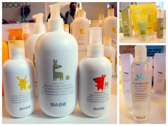 Babe product range