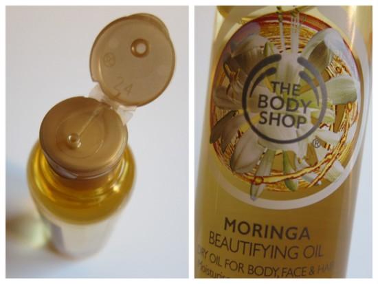 Body Shop Moringa Oil