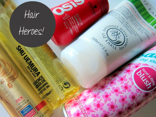 Hero products for hair