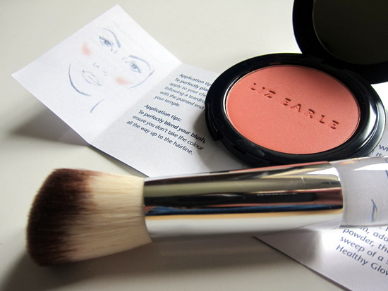Liz Earle Healthy Glow Blusher and Brush
