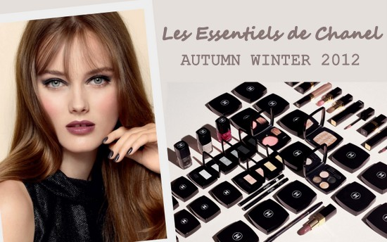 Les Essentiels de Chanel Autumn Winter 2012 Make Up Collection