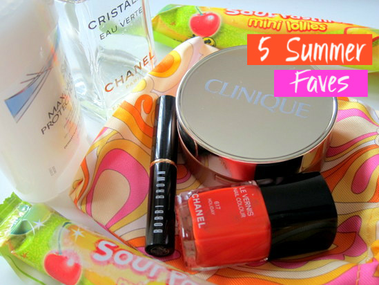Favourite summer products