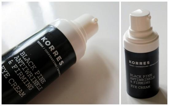 Korres Black Pine eye cream