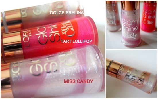 L'Oreal Miss Candy Collection Lip Gloss