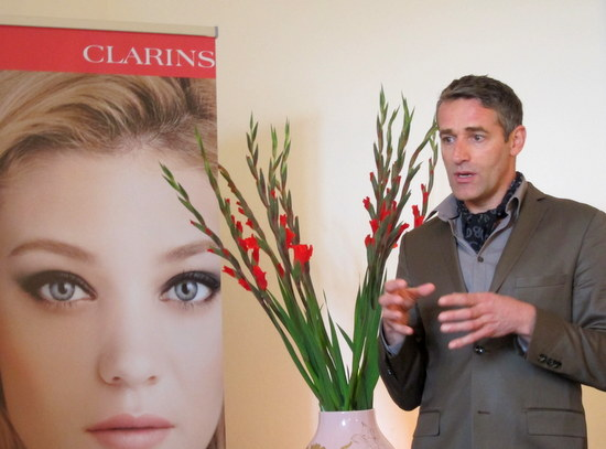 Clarins Autumn 2012 Claude Defresne