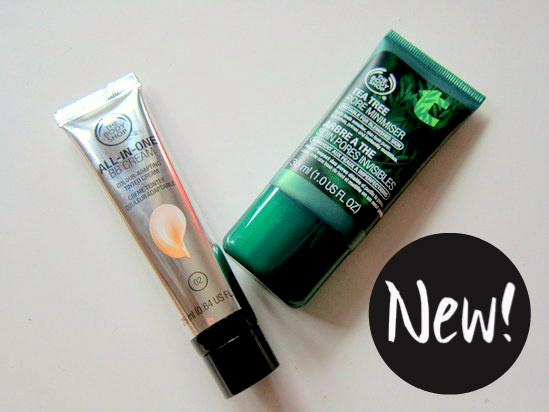 The Body Shop All in One BB Cream and Tea Tree Pore Minimiser