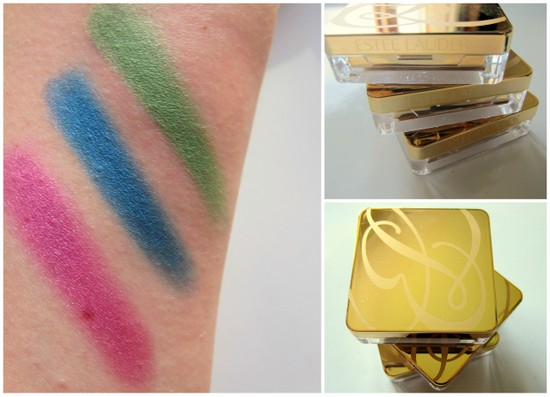 Estee Lauder Pure Colour Vivid Shine Gelee Eye Shadow Swatches