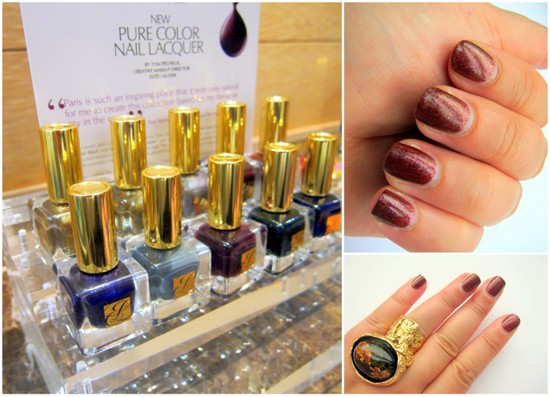 Estee Lauder Pure Colour Nail Lacquer Metal Mania and Beyond Black