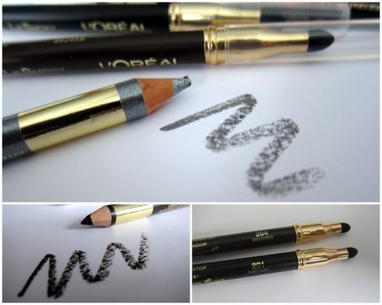 L'Oreal Paris Color Riche Le Khol and Le Smokey eye pencils