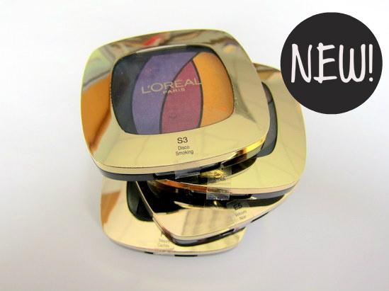 New L'Oreal Paris Colour Riche Eyeshadow Quads