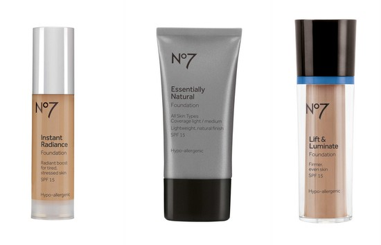 Boots No 7 foundations