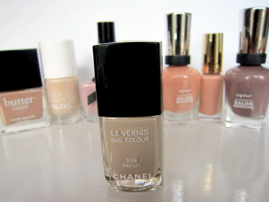Nude nails AW12