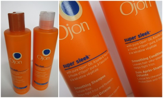 Ojon Super Sleek Shampoo and Conditioner