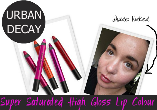 Urban Decay Super Saturated High Gloss Lip Pencil Naked