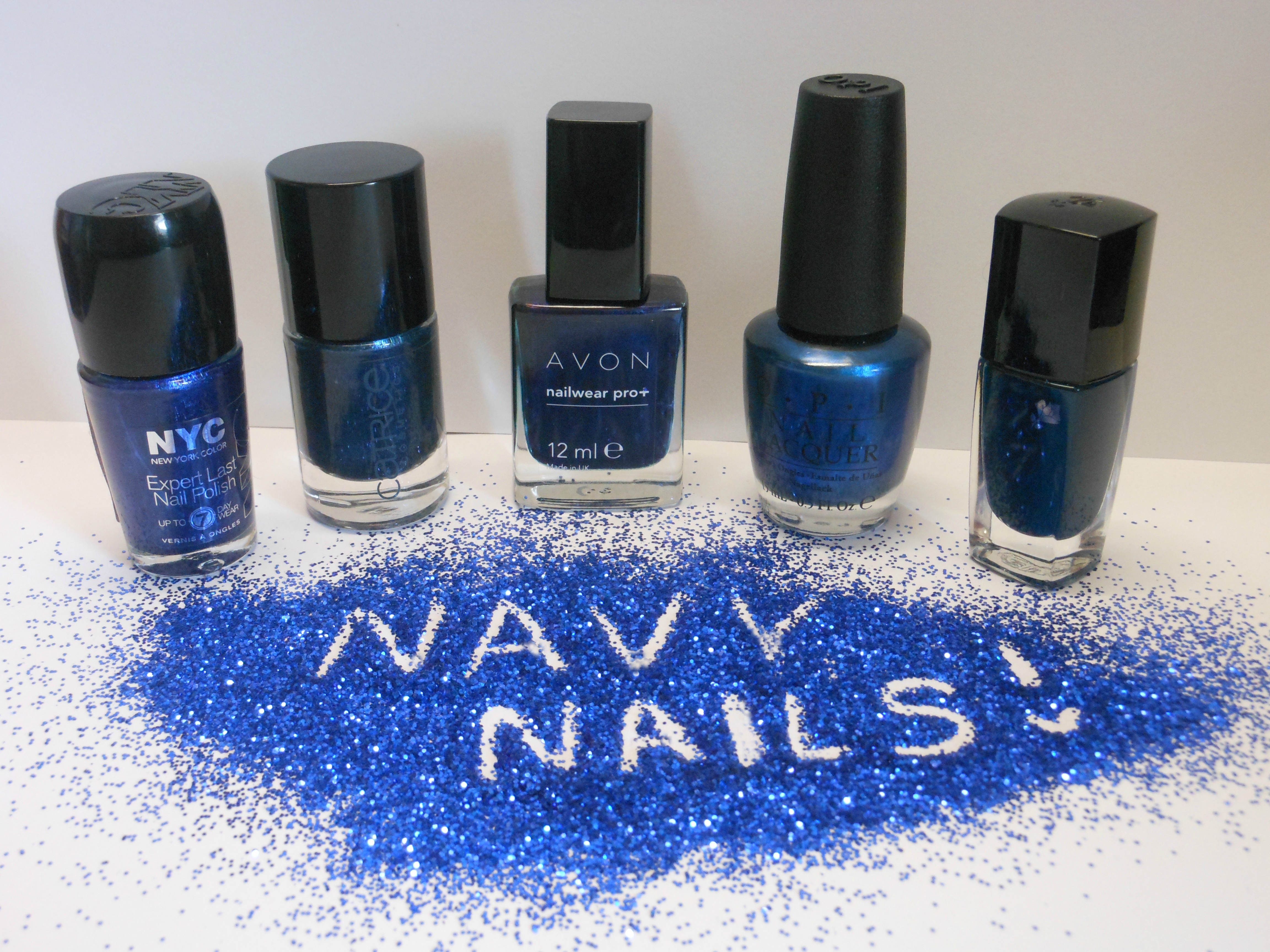 In the Navy: A dark blue polish for every budget - from bling to ...
