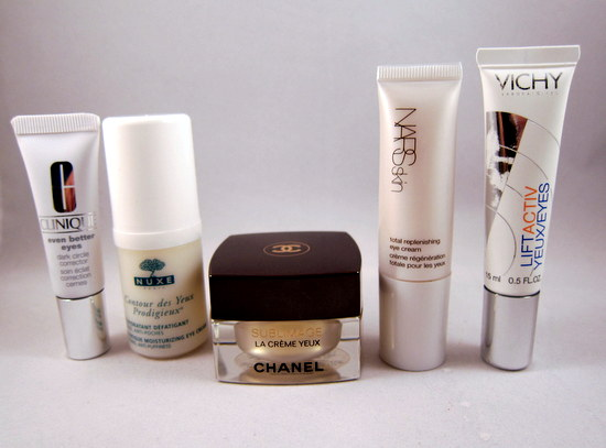 Eye Creams For All Budgets: Five To Try from Clinique, NUXE