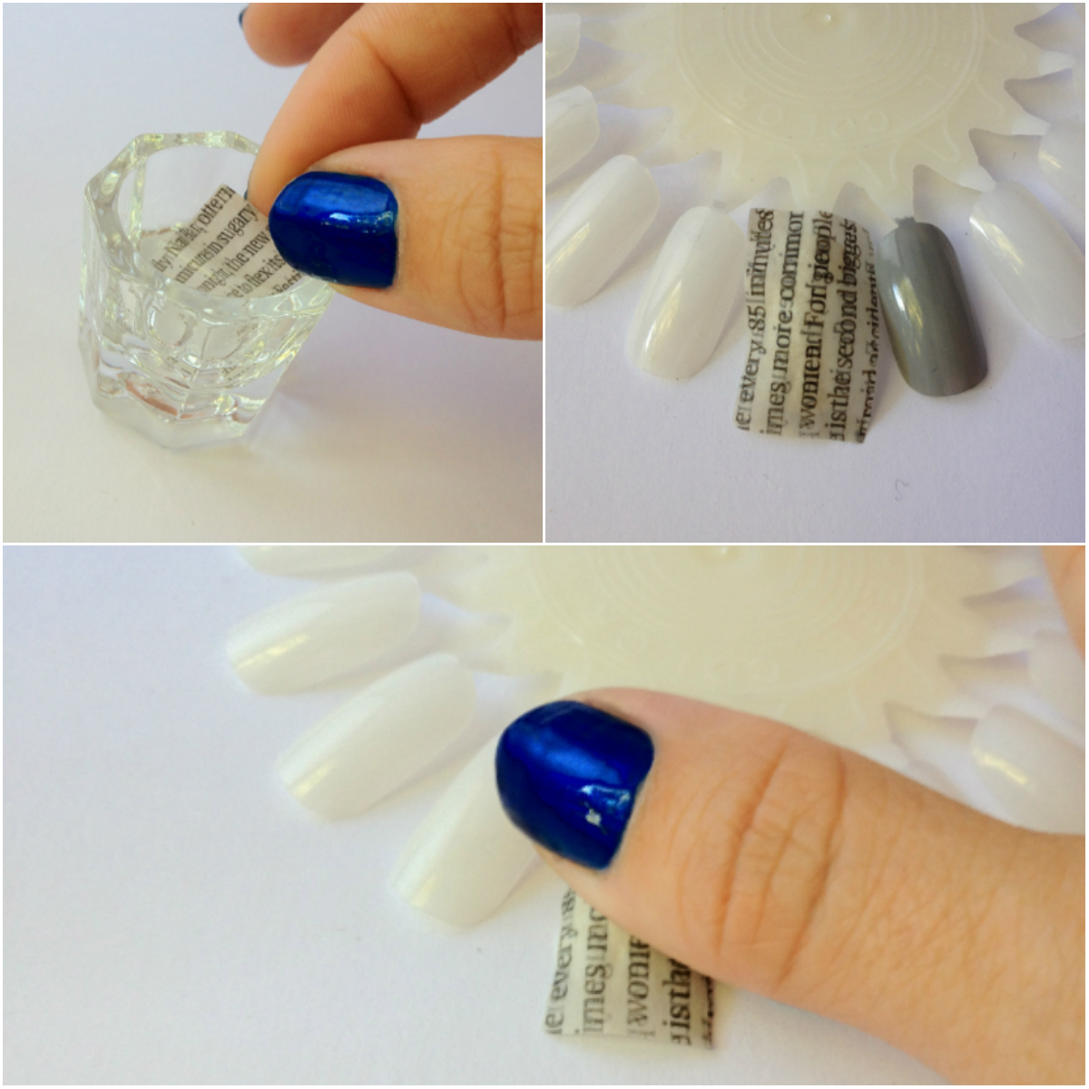 Extra, Extra! Beaut.ie How To: Newsprint Nails | Beaut.ie