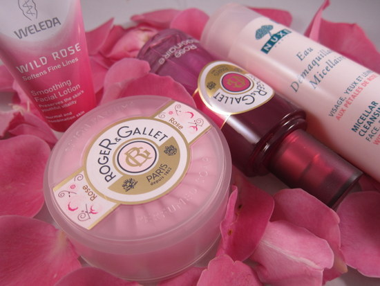 rose products Roger & Gallet Nuxe Weleda