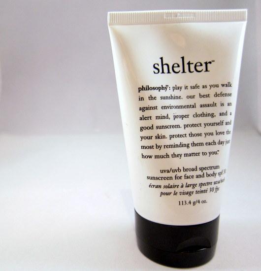Philosophy shelter