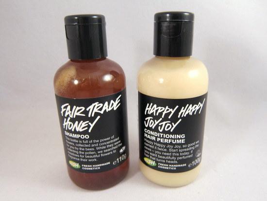 Lush Fair Trade Honey, Lush Happy Happy Joy Joy