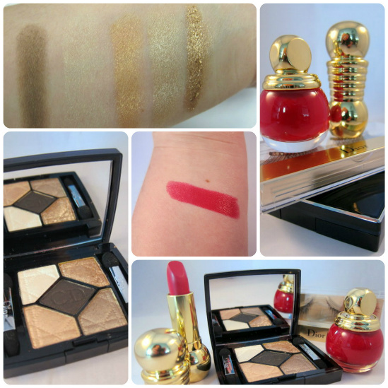 Dior Grand Bal Christmas 2012 Swatches
