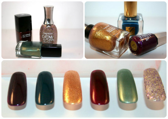 nails for autumn aw12