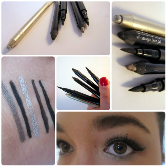 best eyeliners swatches