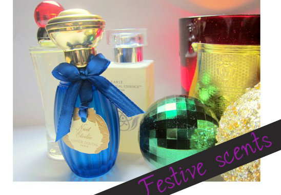 Christmas perfumes