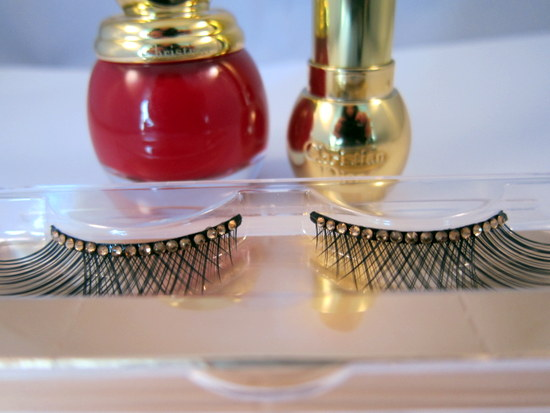 Dior Grand Bal Christmas 2012 false eyelashes