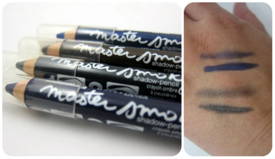 Maybelline Eye Studio Master Smoky Eye Pencils