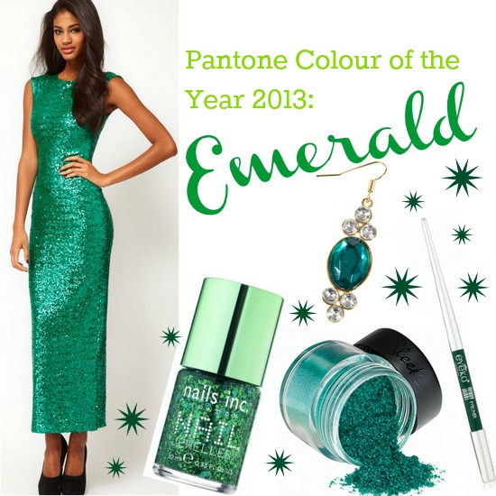 Emerald pantone colour of the year 2013