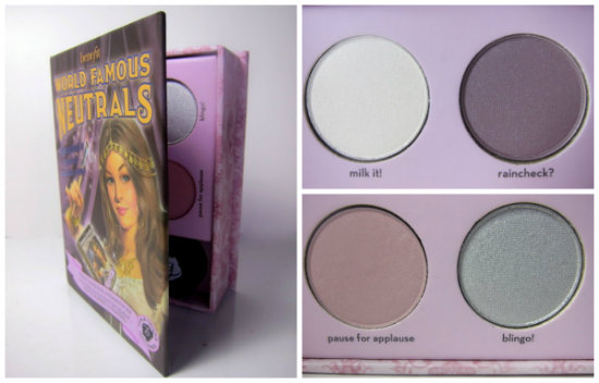 Benefit World Famous Neutrals: Sexiest Nudes Ever