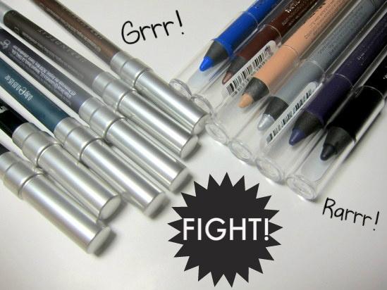 Best Eye Pencils - Rimmel Scandaleyes vs Urban Decay 24/7 Glide-On Eye Pencils