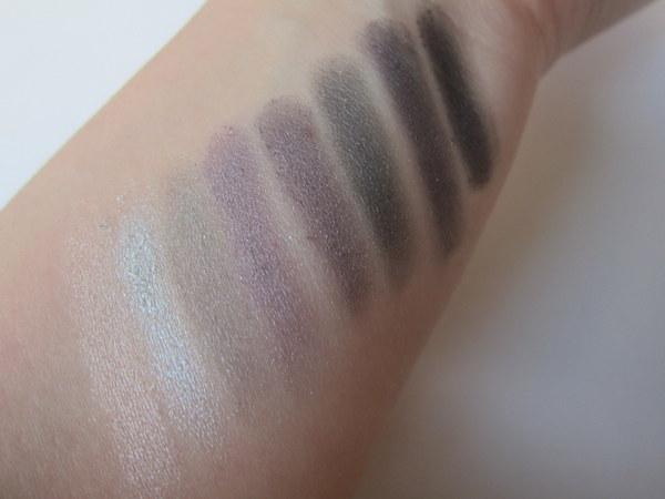 Essence night club glamour to go eyeshadow palette swatches
