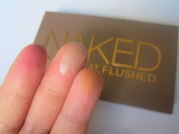 Urban Decay  Naked Flushed Palette Swatches