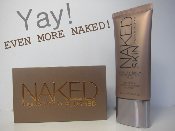 Urban Decay Naked Skin BB Cream and Naked Flushed Palette