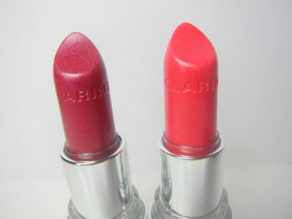 Clarins Joli Rouge Brilliant Perfect shine Sheer lipstick