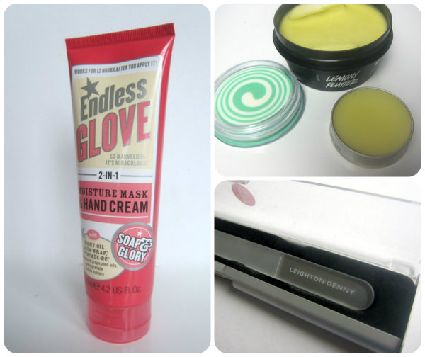 top hand and nail products