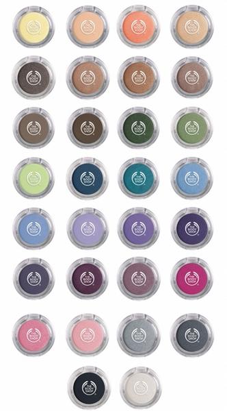 Body Shop Colour Crush full range
