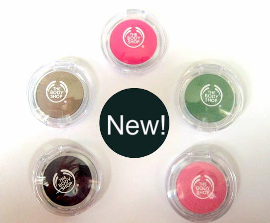 Body Shop Colour Crush collection