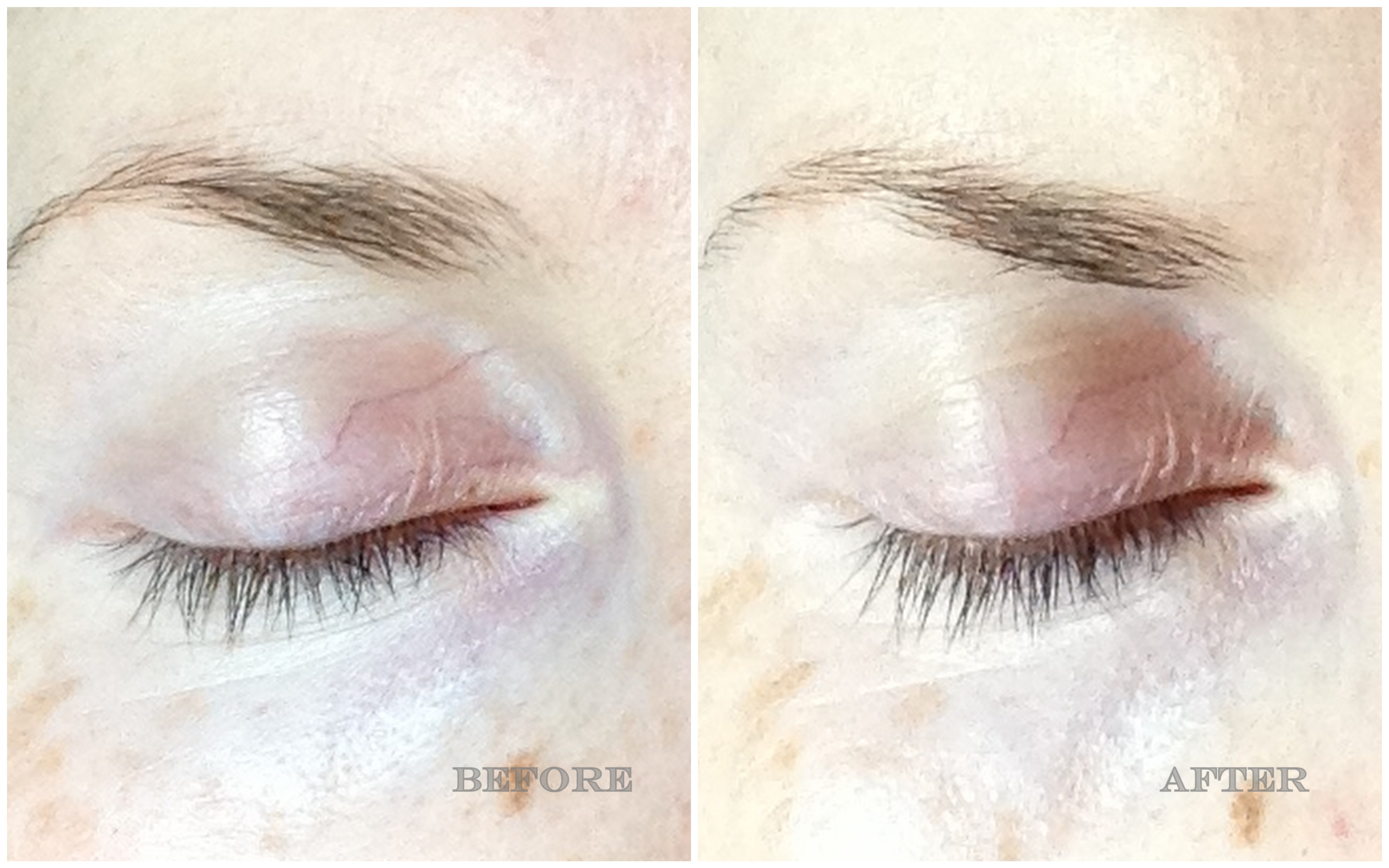fd3b117a1d1 GOSH Growth Serum and Mascara tried and tested: before and after ...
