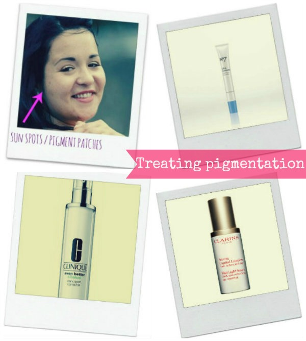 best products to deal with pigmentation and dark spots