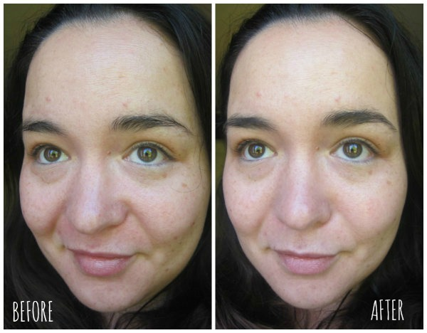 Garnier 5 second perfect blur primer before and after pictures
