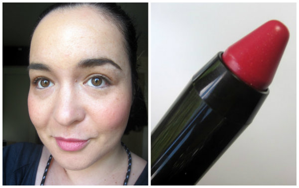Boots No 7 High Shine Lip Crayon Delicate Pink Swatches