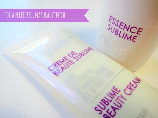 L'Occitane Iris Angelica Sublime Skin Serum and BB Cream: