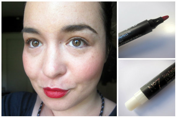WithBoots No 7 Stay Perfect Lip Stain Ruby